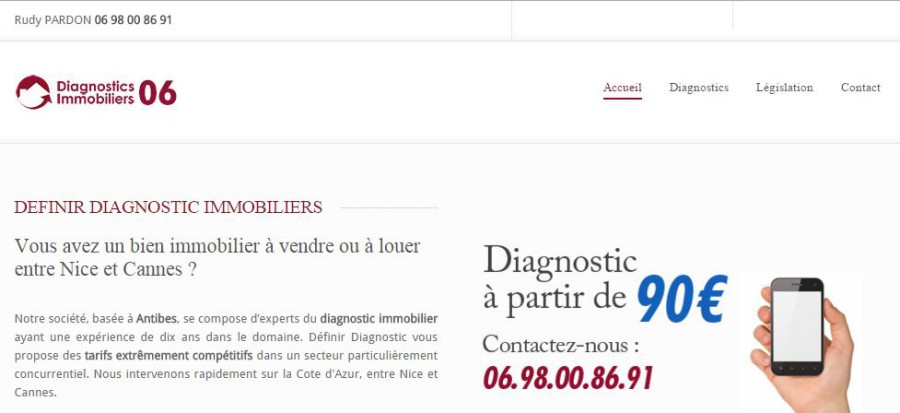 Diagnostics immobiliers 06